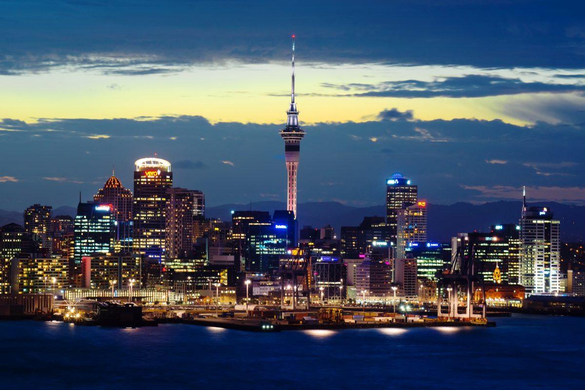 Auckland Skyline - Dusk