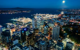 Auckland business district